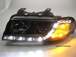 sw drl headlights audi a4 b5 95 98 daytime runing light r87 bl