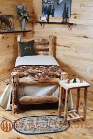 Log Bed Pictures by The 25 Best Log Bed Frame Ideas On Pinterest Log Bed