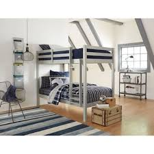 Bunk Bed With Loft Loft Bunk Beds Value City Furniture And Mattresses