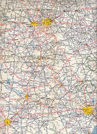 Map Of Dfw Texasfreeway U003e Statewide U003e Historic Information U003e Old Road Maps
