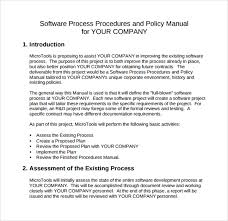procedural manual template hr policies hr policies manual