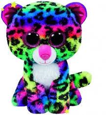 ty beanie boos buddy dot leopard 24cm