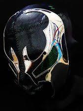 Spawn Costume Premium Spandex Wrestler Classic Spawn Mask Costume Wrestling Ebay