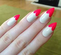 15 valentine u0027s day pointy nail art designs u0026 ideas 2017 vday
