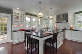 white kitchen island with stainless steel top 43 luxury modern kitchen designs that you will