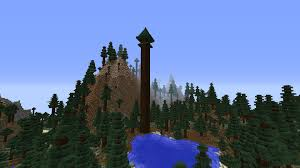 what a real redwood tree would look like in minecraft