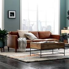 Interior Designs For Living Room With Brown Furniture Leather Sofa Interior Design