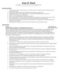 Resume Work Experience Examples For Customer Service by Resume Sample Objective Profile