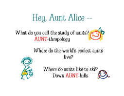 riddles about aunts greeting card happy birthday printable card