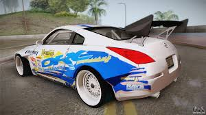 custom nissan 350z nissan 350z rocket bunny for gta san andreas