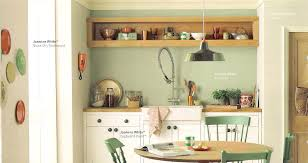 dulux decorated kitchen in overtly olive emulsion rustic country