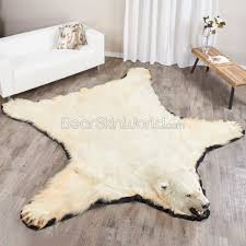 bearskin rug history bear skin world