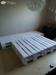 Pallet Bed Frame Plans Best 25 Pallet Bed Frames Ideas On Pinterest Platform Beds