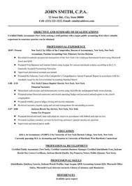 Resume Templates Accounting Accounting Resume Templates Resume Of Accountant