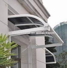 high grade aluminium patio rain awning rain shade balcony canopy