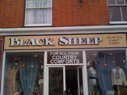 painted shop fascia with block and cast shadows osborne signs