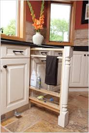 Kitchen Towel Racks For Cabinets 15 Clever Kitchen Towel Storage Ideas