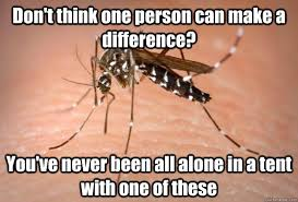 All Alone Meme - don t think one person can make a difference you ve never been