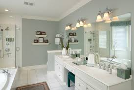 Simple White Master Bathrooms Amazing Bathroom Decor With - White cabinets master bathroom