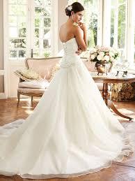 classic princess a line sweetheart organza sequin beaded wedding