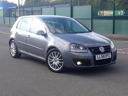 2009 jan 09 volkswagen golf 2 0 tdi gt 5 dr diesel manual