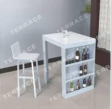 Acrylic Bar Table Free Shipping Lucite Mini Bar Table With Wine Rack Modern Acrylic