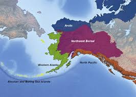 Alaska Map In Usa by Climate Conservation And Community In Alaska And Northwest