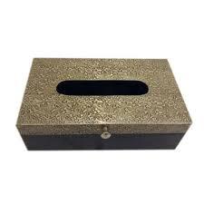decorative tissue box brass fitted decorative tissue box at rs 1800 boranada
