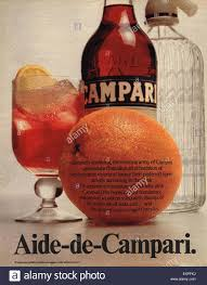 campari 1970s uk campari magazine advert stock photo royalty free image