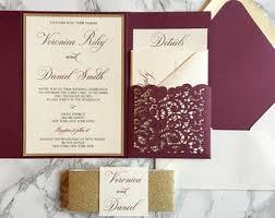 invitations for wedding burgundy wedding invitations burgundy wedding invitations by