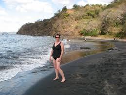 where is the black sand beach traveling in ecuador u0026 costa rica