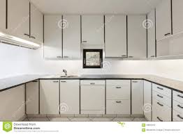 Interiors Of Kitchen by Interiors Of Empty Apartment Kitchen Stock Photo Image 56633452