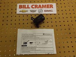 12497781 gm oem 7 pin to 12 volt trailer wiring adapter ebay