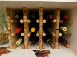 wine rack made from corks thisnerdhouse our sentimental cork