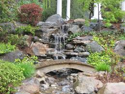 Waterfall Landscaping Ideas Most Popular 20 Waterfall Landscaping Ideas With Small Wooden
