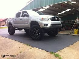 toyota tacoma silver toyota tacoma maverick d536 gallery fuel off road wheels