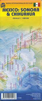 map of mexico yucatan region sonora chihuahua travel ref map
