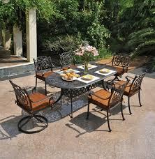 60 Patio Table Chateau By Hanamint Luxury Cast Aluminum Patio Furniture 60