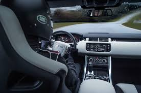 land rover inside view 2015 range rover sport svr fastest suv on nurburgring for now