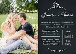 wedding announcements special chalk board photo wedding announcements cards