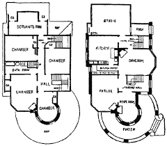 victorian queen anne residence 1906 house plan