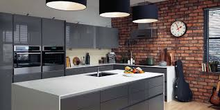 how to hang kitchen cabinets on brick wall brick in the kitchen gambrick