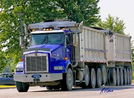 kenworth tractor trailer trucks myconstructionphotos