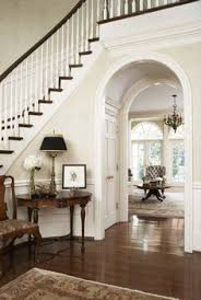 Foyer Stairs Design Family Room Reveal Thrifty Pretty U0026 Functional Amelia Foyers