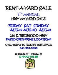 World S Longest Yard Sale Map by Oregon U0027s Longest Yard Sale Us 199