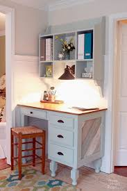 Kitchen Desk Design Wall Mounted Kitchen Hutch Tutorial Pretty Handy