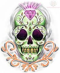 15 best sugar skull tattoo drawings images on pinterest skull