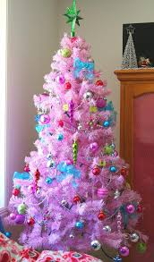 pink christmas tree christmas trees decorated with pink home design and decorating