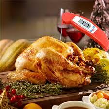 sonde thermometre cuisine bbq thermomètre de cuisson de la viande sonde numérique à lecture