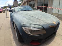 african sports cars animal the custom built denim car from south africa whiteafrican